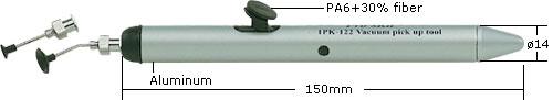 proskit 1pk-122 vakumlu tutucu boyutları